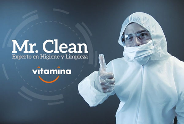 Vitamina Mr. Clean.